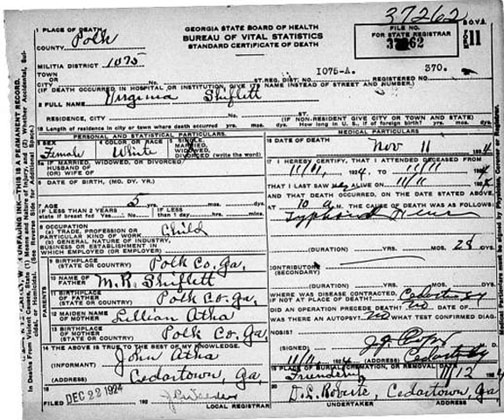 Virginia Divorce Records: Death Certificates